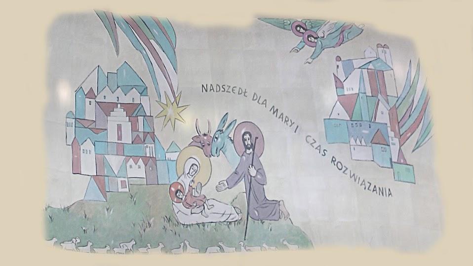 obraz z kościoła - Boże Narodzenie