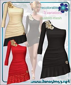 Vestido formal (ilanasims3)