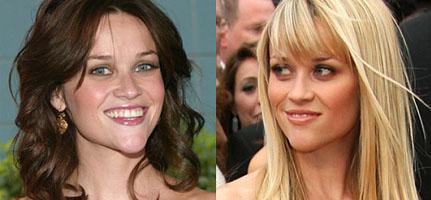 Reese Witherspoon loira ou morena?