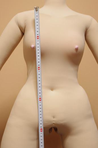 リップロップTYPE-130RX身体測定