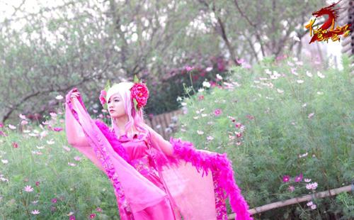 Bảo Ngọc rạng rỡ với cosplay Hoa Tiên Tử trong TLBB 7