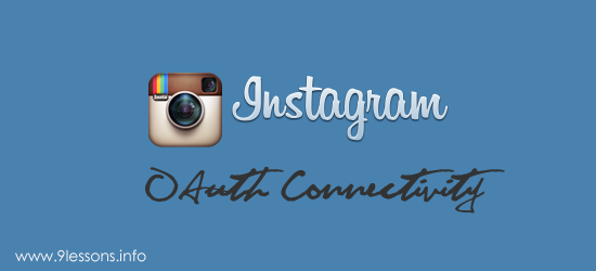 Login with Instagram OAuth using PHP.