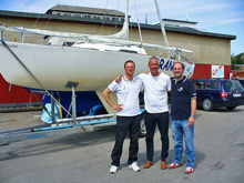 J/22 French team- winners of German Open Travemunde