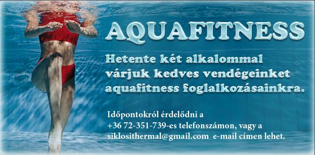Aquafitness a siklósi fürdőben