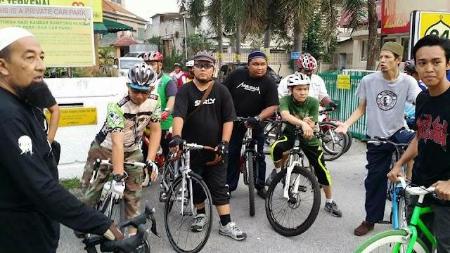 Gateh Basikal Bersama UAI Di KL