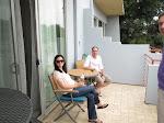 Jon & Alyssa on the deck