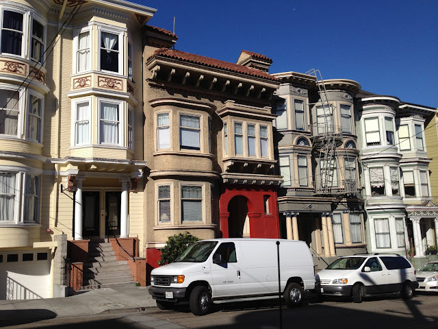 More Victorian Homes in San Francisco