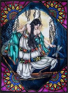 Ix Chel Mayan Moon Goddess Image