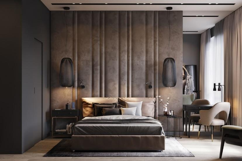A Modern Wall Decoration Style - A Luxurious Primary Bedroom