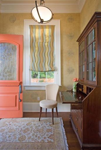 Màu cam đào cho căn nhà tràn đầy sức sống