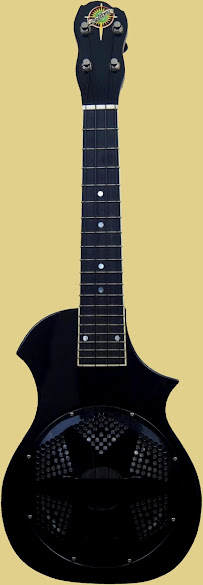Beltona Black Type#2 Concert Resonator Ukulele Corner