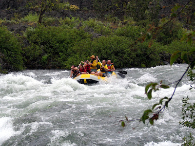 Whitewater rafting, Oregon