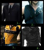 2 Vests, 1 Blazer, 1 Jacket...