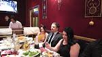 Sveta, Tony & Mila at the table