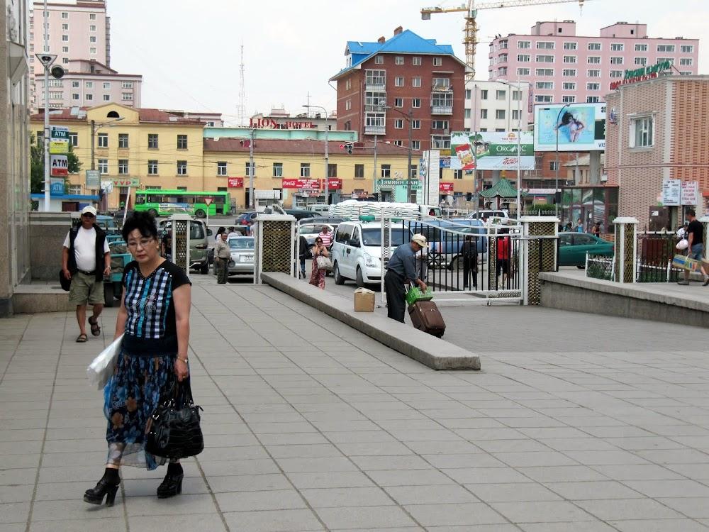 Downtown Ulan Bator