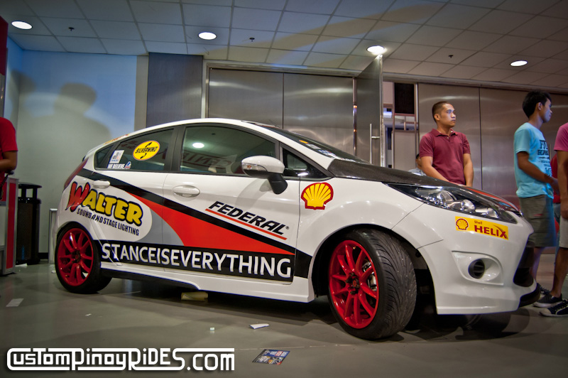 Ford Fiesta 2011 Trans Sport Show Custom Pinoy Rides