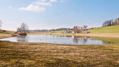 Eierspringen am Eichener See