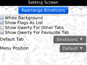 Emoticons for BBM v1.1 BlackBerry