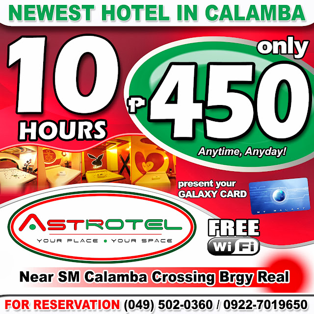 Astrotel Calamba Room Rates