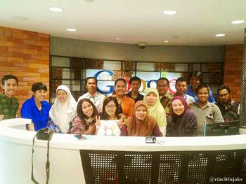 Member BRID di Kantor Google Indonesia