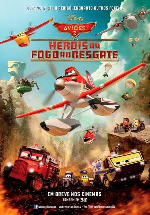 Baixar Aviões 2: Heróis do Fogo ao Resgate TS Dublado Download Grátis