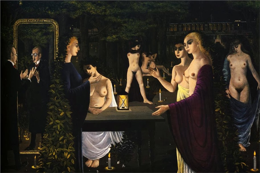 Paul Delvaux - The Sabbath, 1962
