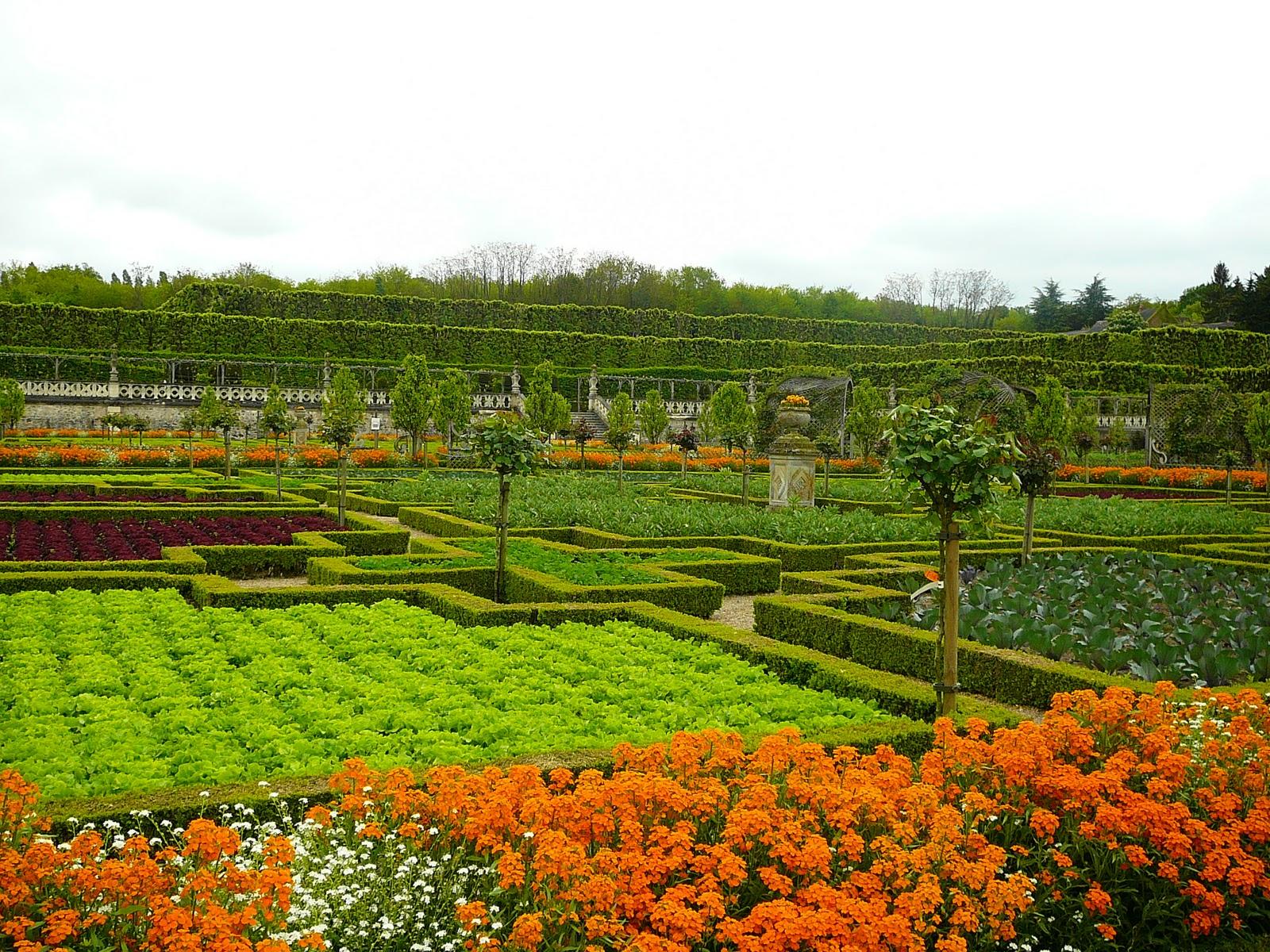Jardinitis huertos bonitos castillo villandry francia - Huerto y jardin ...