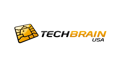 Tech Brain USA : company which focus on the technical part of technology logo design