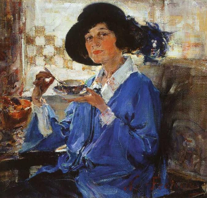 """Фешин Николай Иванович картина """"1923, Миссис Крейг"""""""