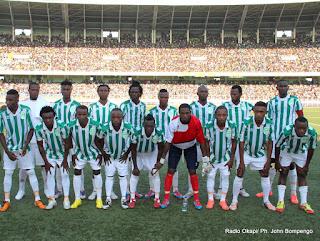 DCMP le 27/10/2012 au stade des martyrs à Kinshasa, lors du match perdu contre l'As-V Club, score: 0-1. Radio Okapi/ Ph. John Bompengo