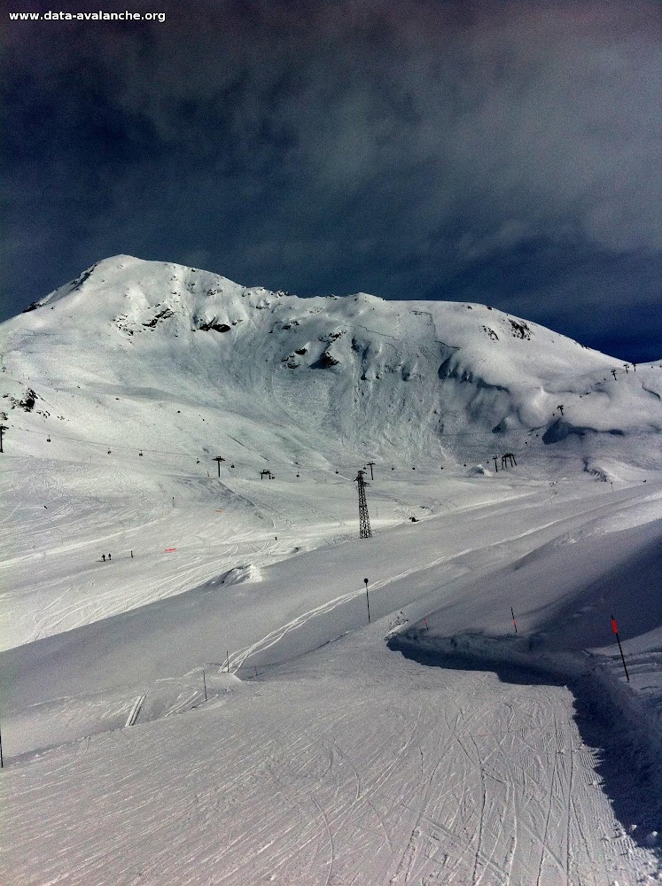 Avalanche Haute Tarentaise, secteur Col de l'Iseran, Combe du Signal - Photo 1