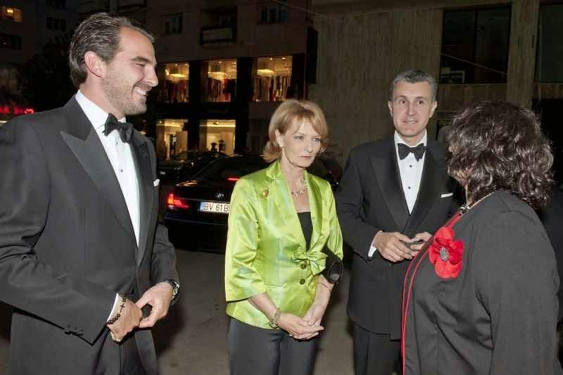 Principesa Margareta a României și Principele Radu al României la Gala Uniter 2012