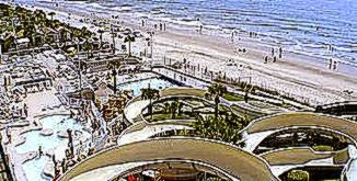 Sandy Beach Resort hotel opens oceanfront  Myrtle Beach Hotel