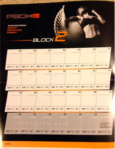 P90X3 Worksheets and Calendar – Happy Running Mom