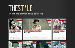 TheStyle Blogger Template