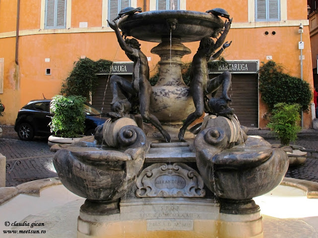 Fantana broastelor testoase (Fontana delle Tartarughe)
