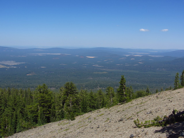 a little of the north slope and the flatlands beyond