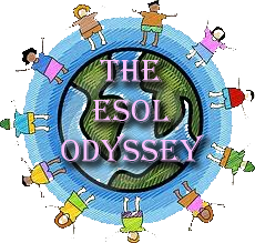 The ESOL Odyssey blog recommended in The ESL Connection