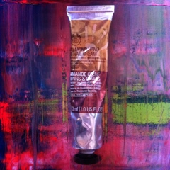 almond hand cream the body shop