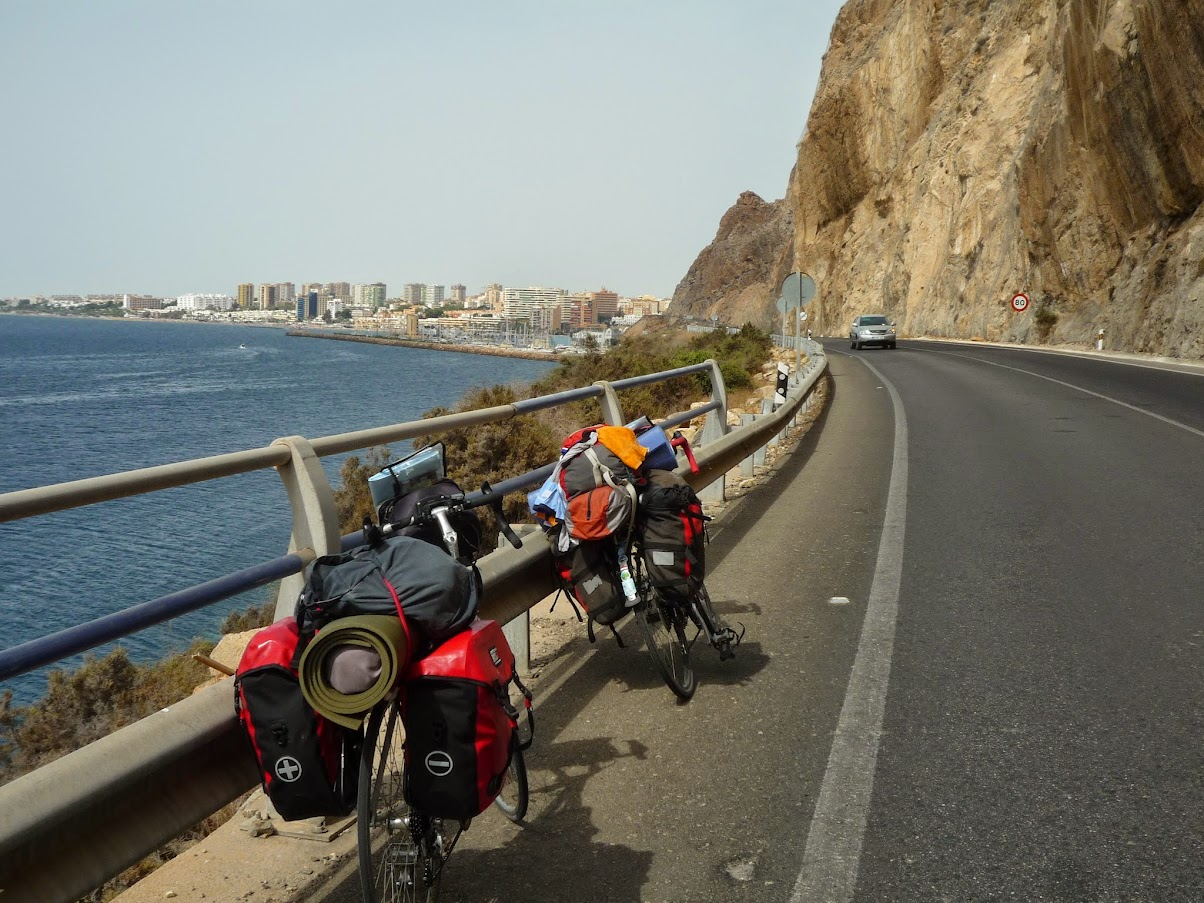 Györgyi Gábor :  Andalucia bicycle tour - Costa del Sol - towards Castell de Ferro