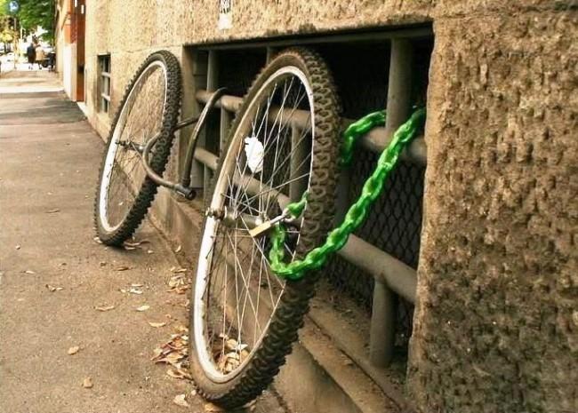 велосипедные приколы украли