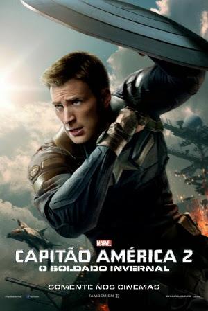 Filme Poster Capitão América 2 - O Soldado Invernal TS XviD Dual Audio & RMVB Dublado