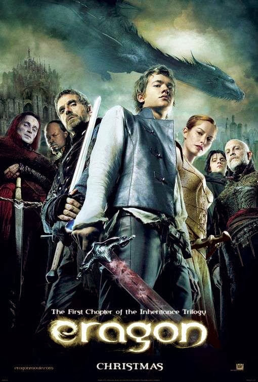 Poster Of Eragon (2006) Full Movie Hindi Dubbed Free Download Watch Online At Alldownloads4u.Com