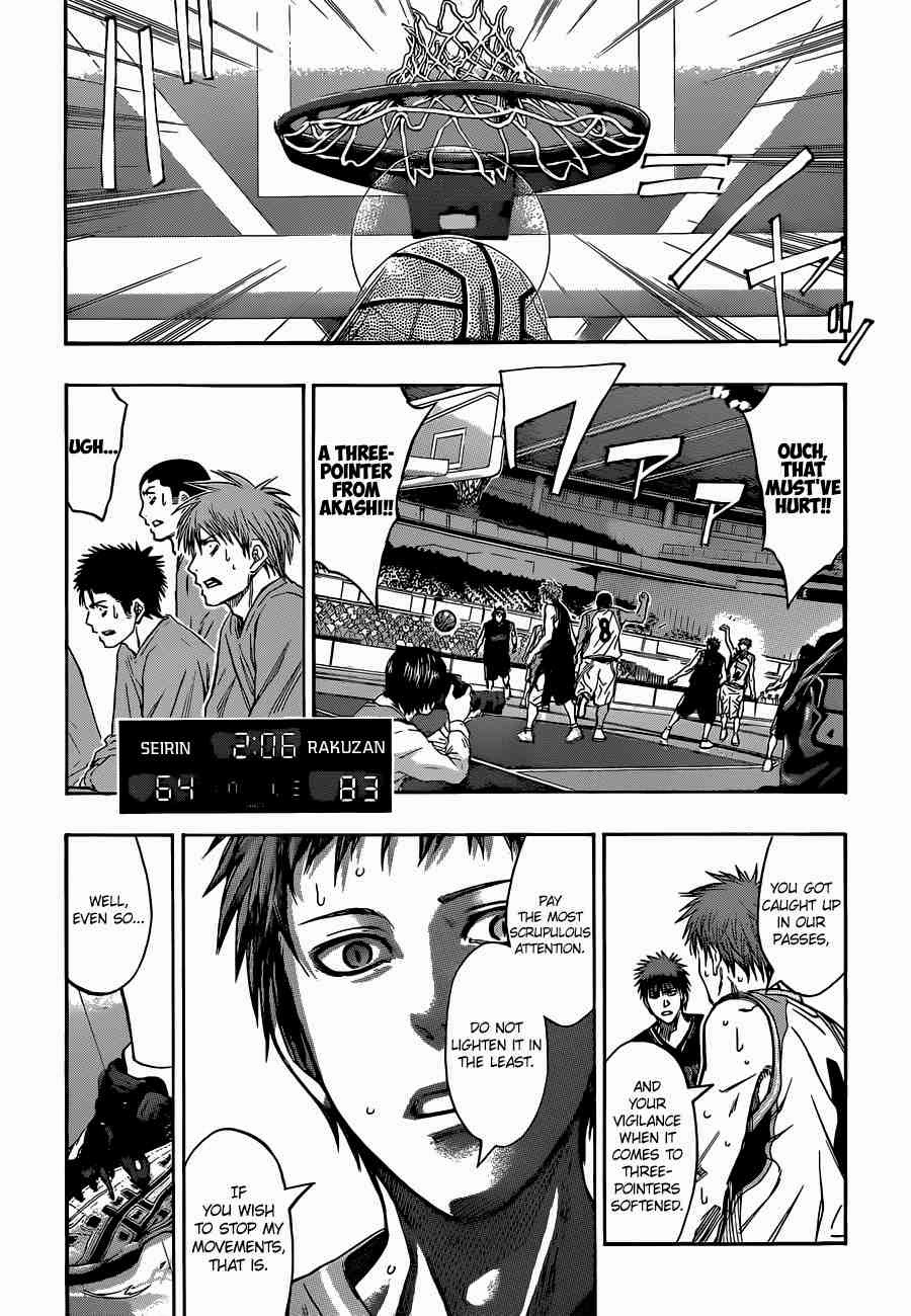 Kuroko no Basket Manga Chapter 255 - Image 09