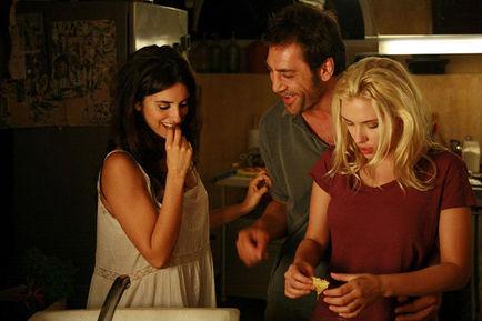 "Javier Bardem, Penélope Cruz y Scarlett Johansson en ""Vicky, Cristina, Barcelona"", de Woody Allen"