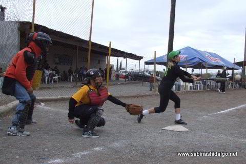 Softbol femenil