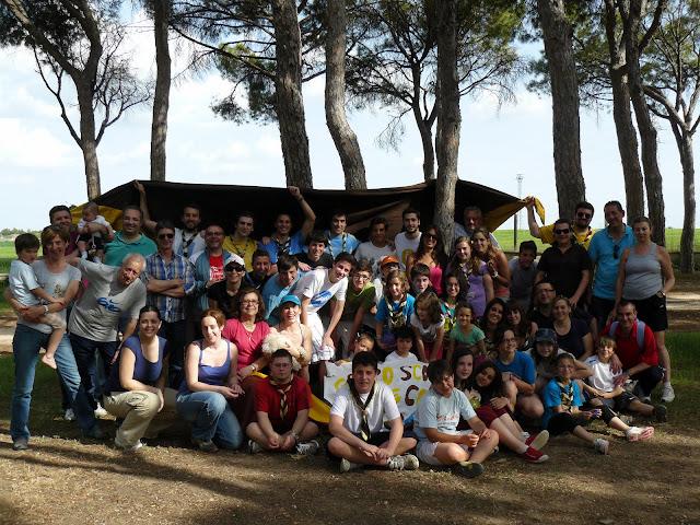 Grupo scout Padre Coll 329 día de grupo Albacete