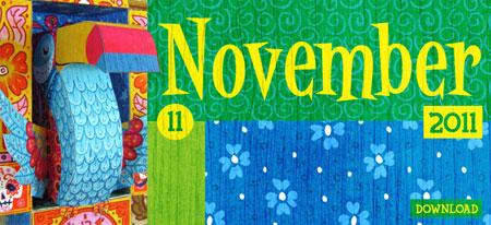 2011 3D Toucan Calendar Papercraft