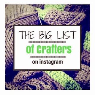 http://thecraftymummy.com/2014/06/big-list-crafters-instagram/