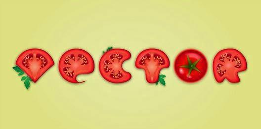 tomato text effect